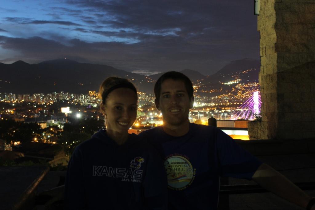 Rooftop terrace in Medellín, Colombia