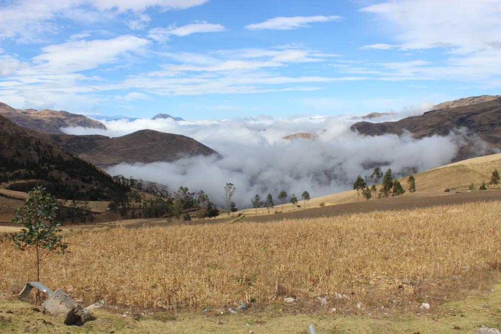 Driving through Ecuador