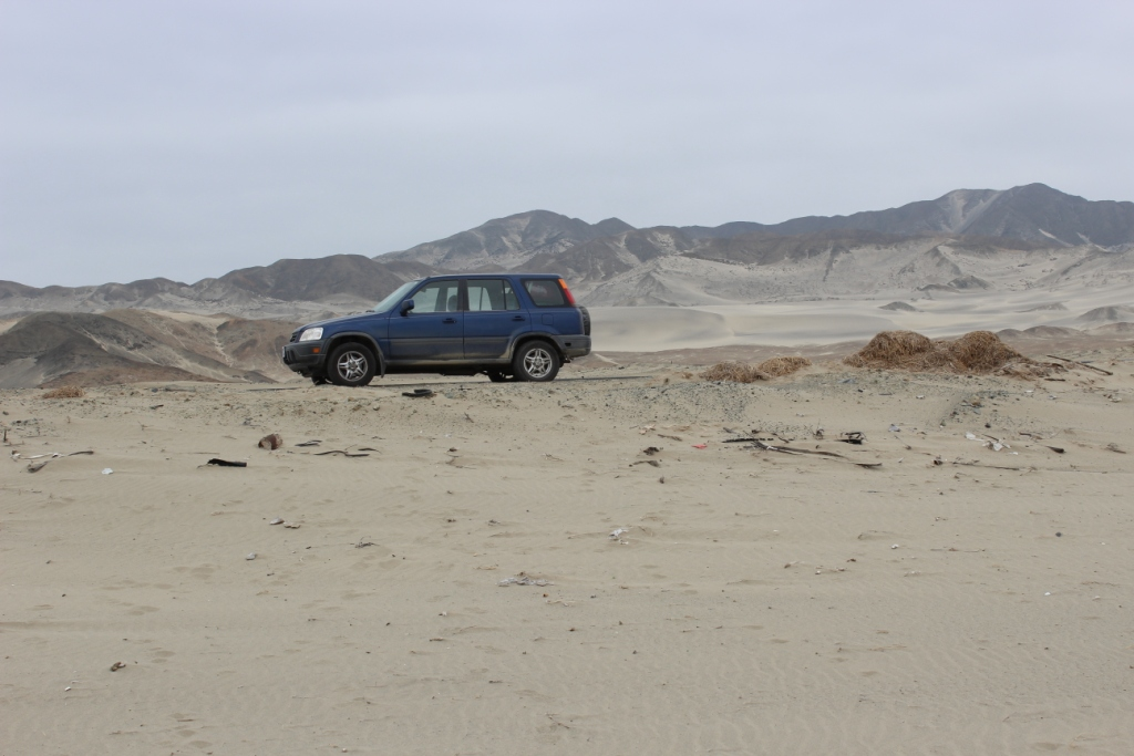 CR-Van in Desert