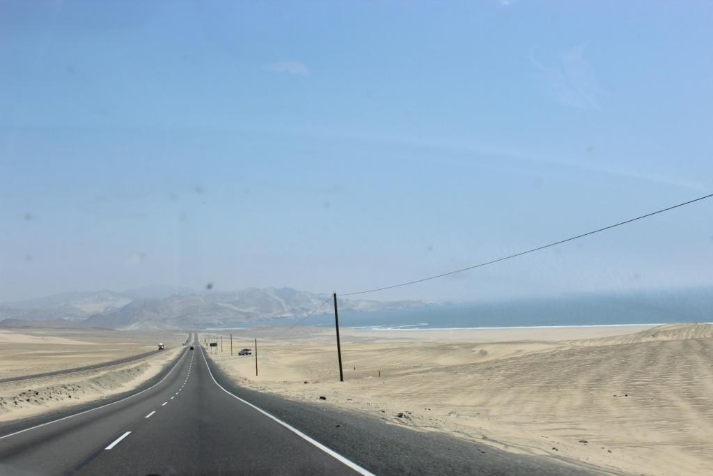 Road and Ocean