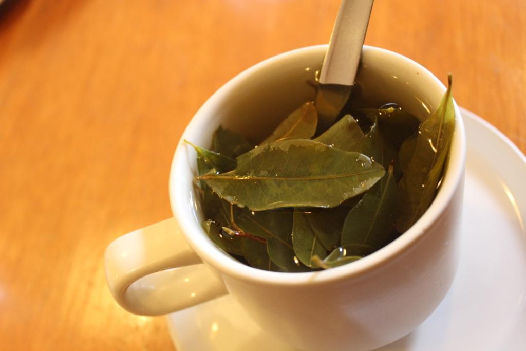 Coca Tea in Cusco Centro