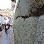Ancient Inca stonework survives in many places