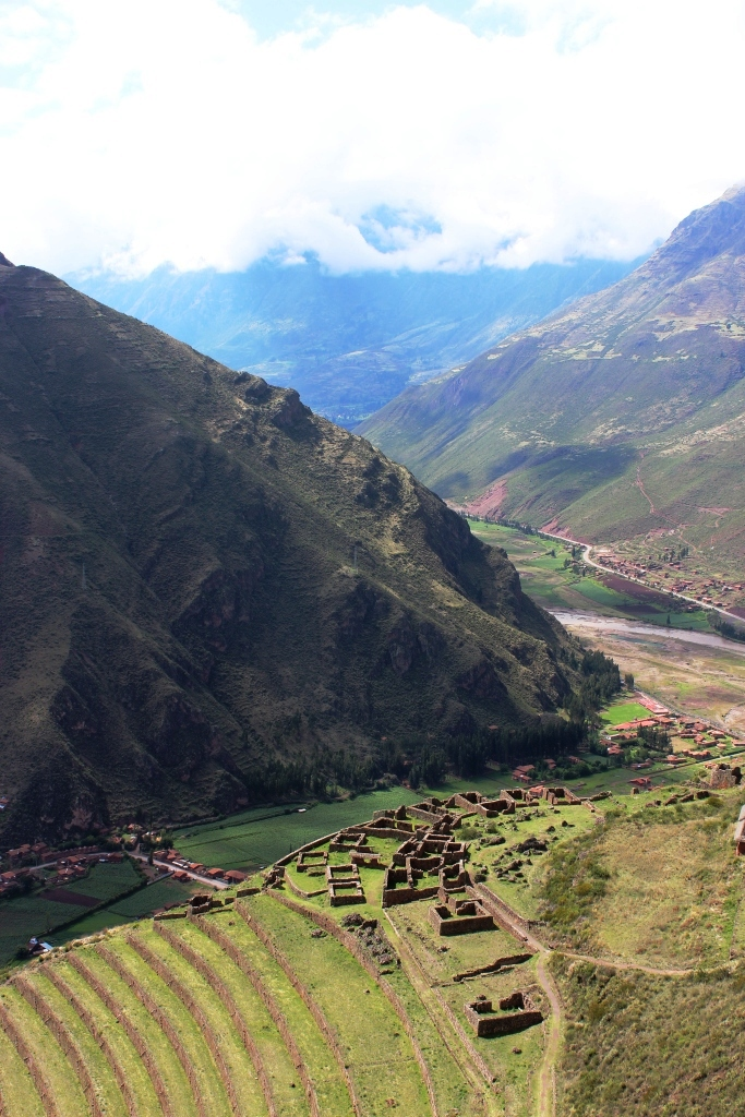 One Section of Pisac as Viewed from Another