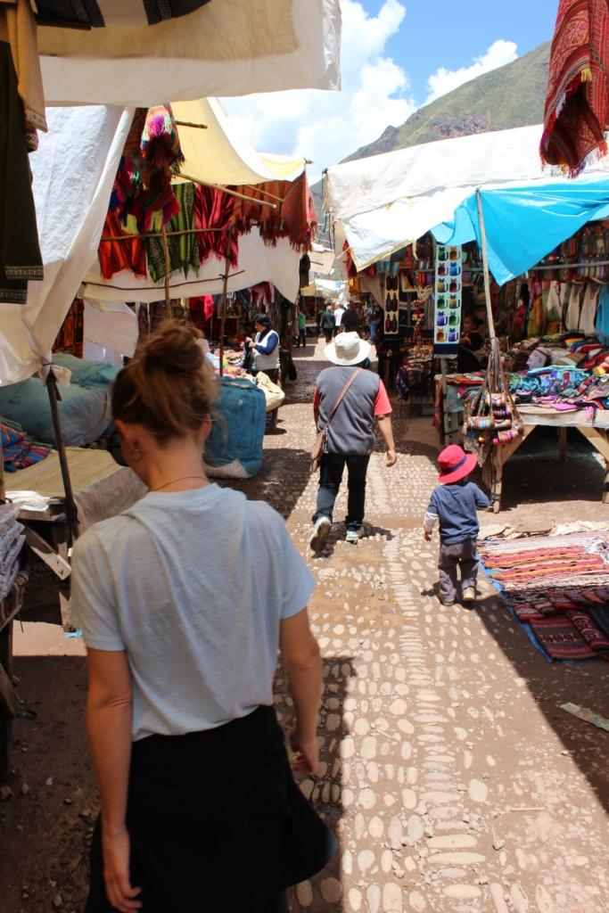 Perusing the Pisac Market