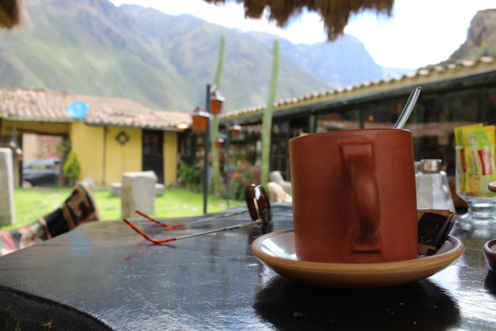 Coca Tea in Ollantaytambo