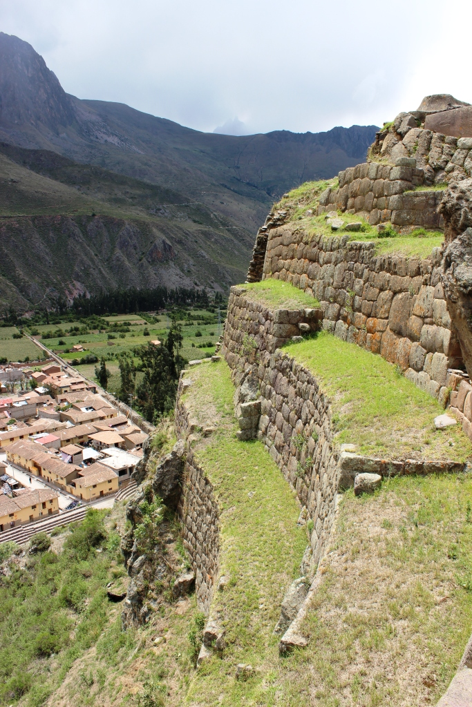 Steep Terraces at Ollantaytambo