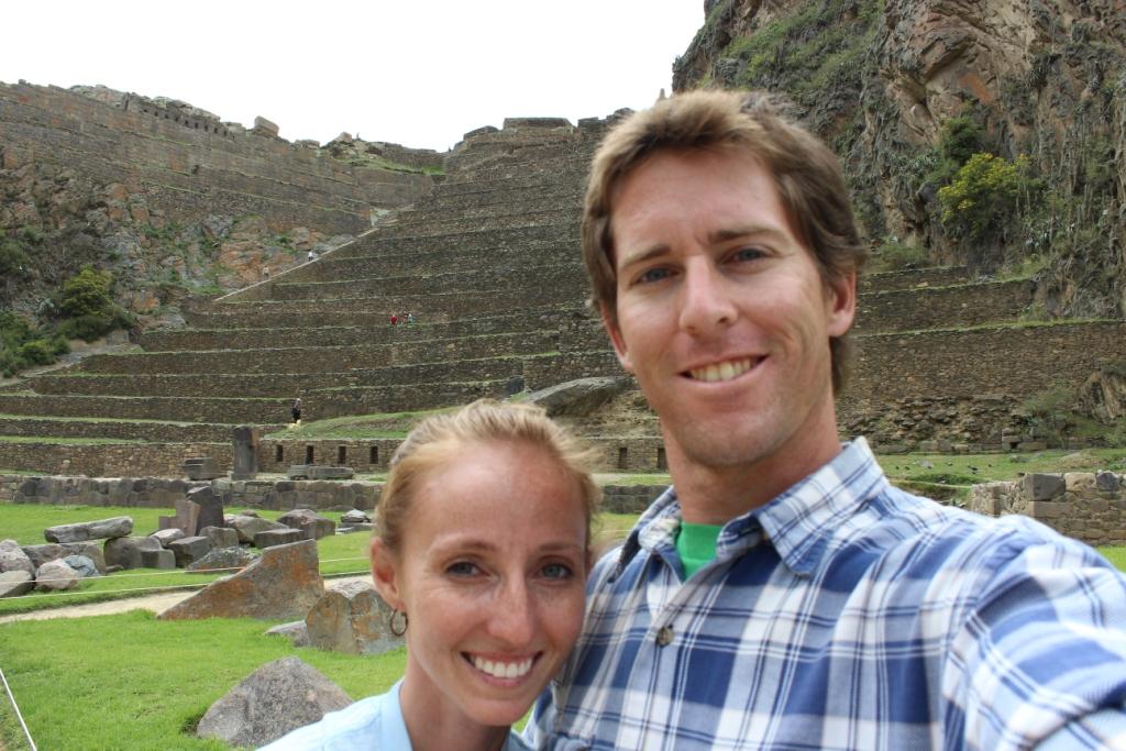 Selfie at Ollantaytambo!