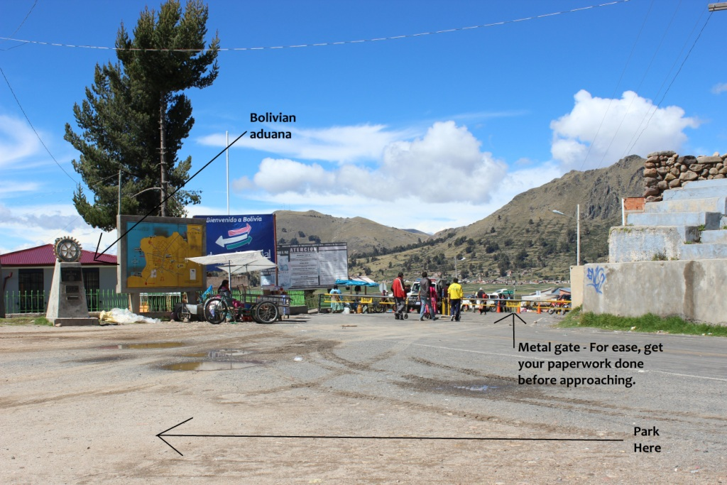 Bolivian Side of Border