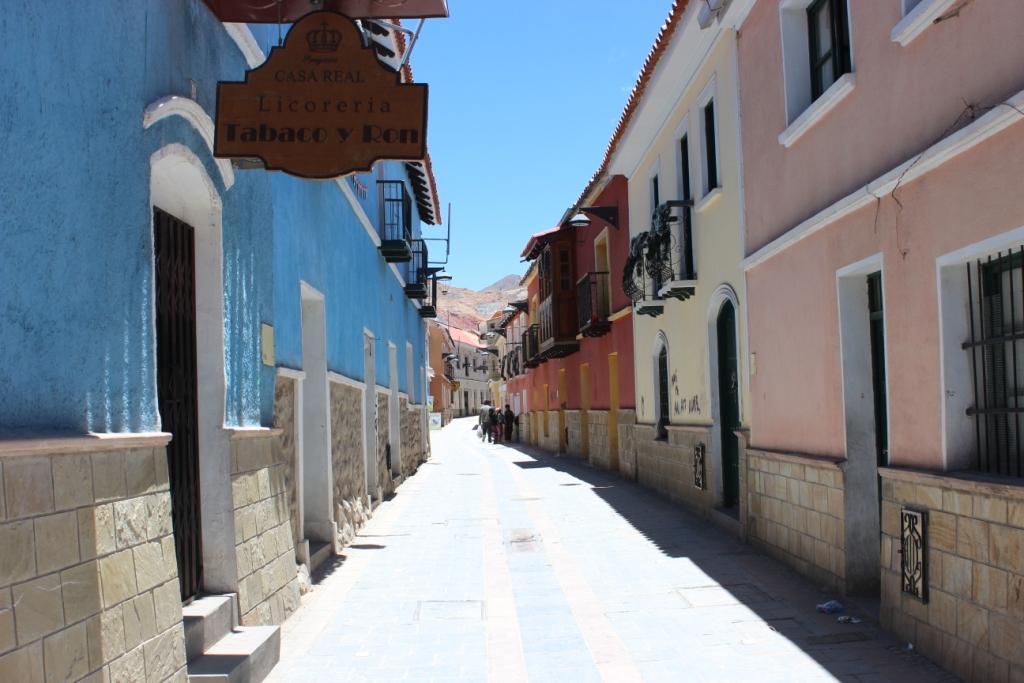 Calle Sucre in Potosí