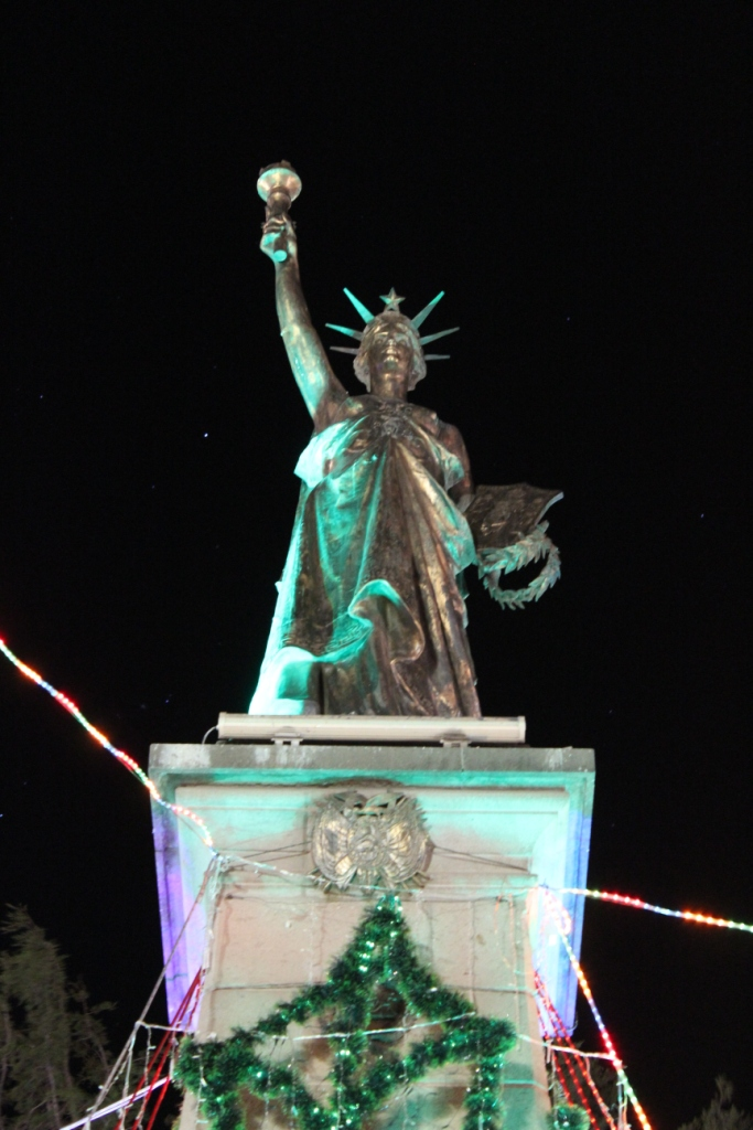 Statue of Boliberty?