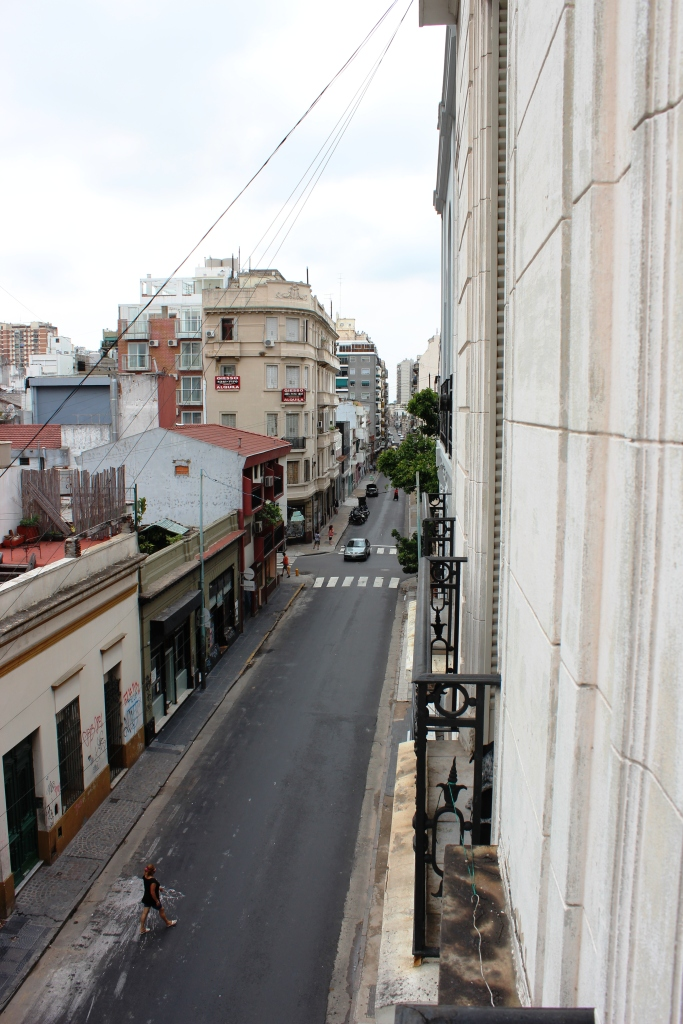 Carlos Calvo Street from Our Apartment