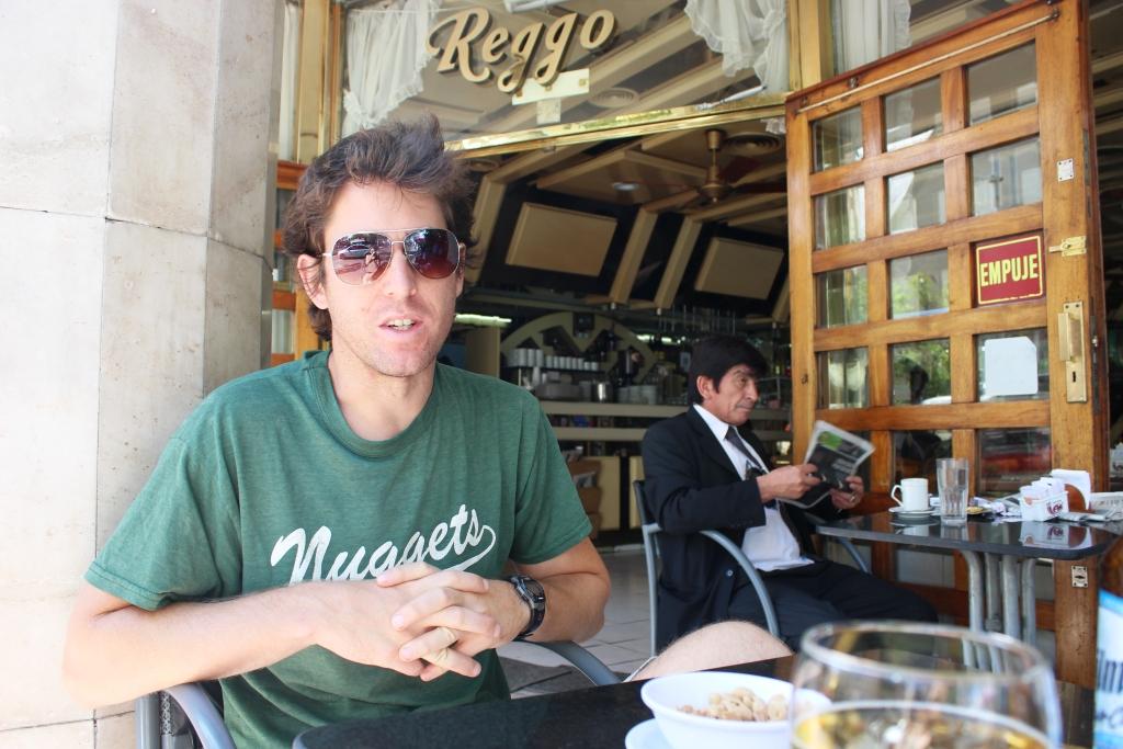Ian in Córdoba, Argentina