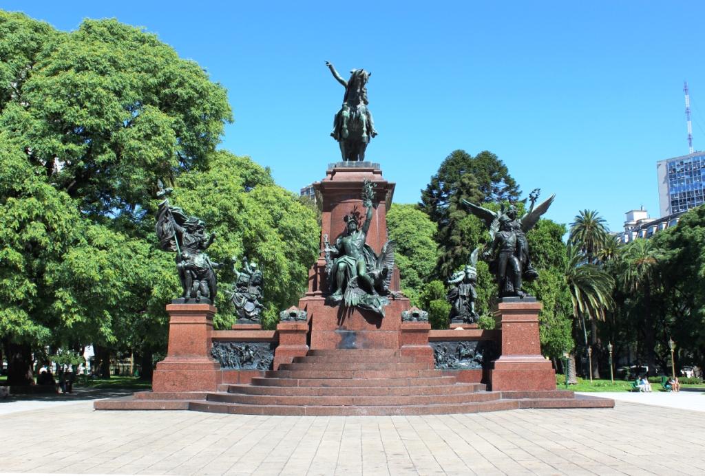 Buenos Aires Park Statue