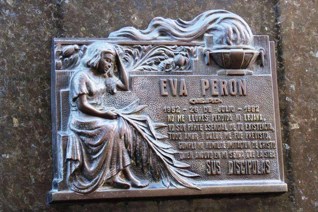Eva Perón's Placard