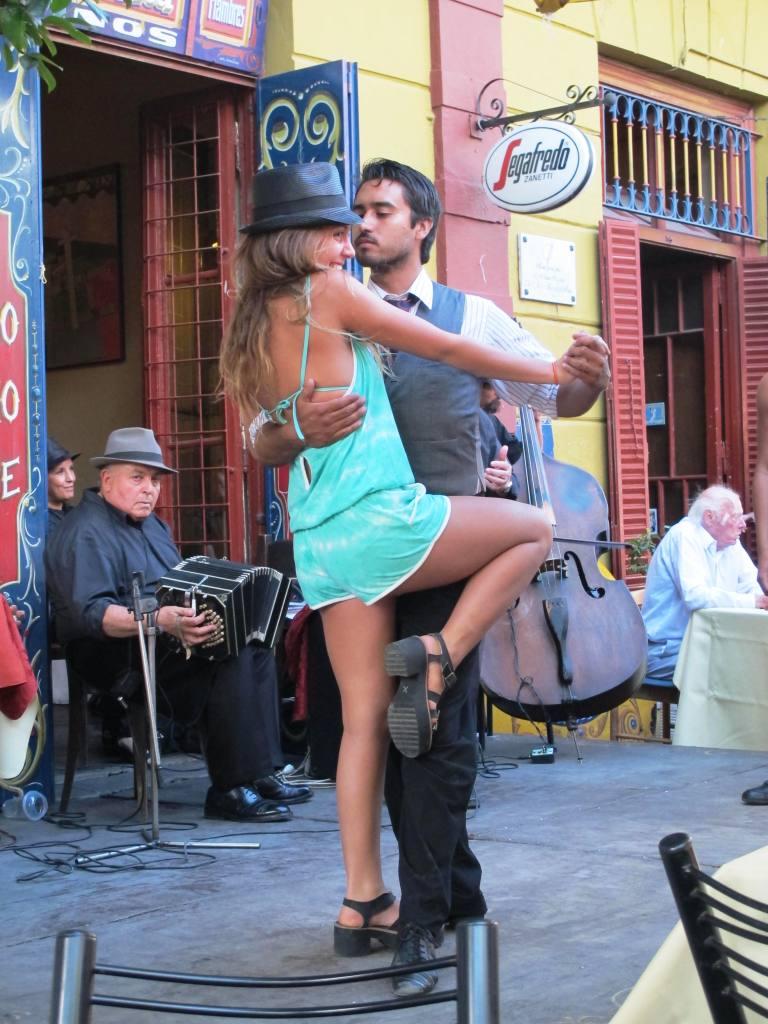 Tango Dancers at Caminito