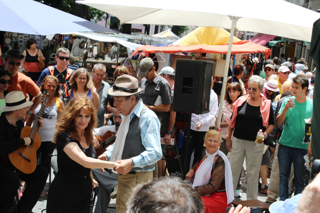 Tango at the San Telmo Sunday Market