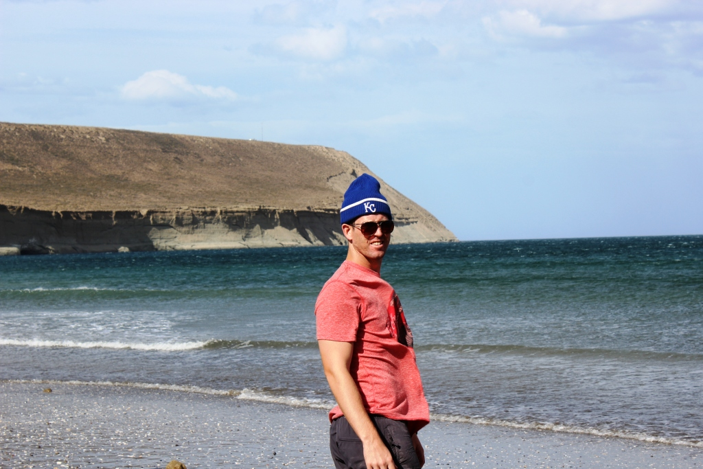 On a Windy Beach South of Rada Tilly