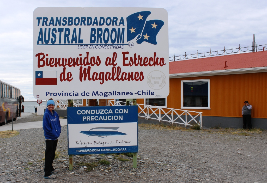 Estrecho de Magallanes Sign