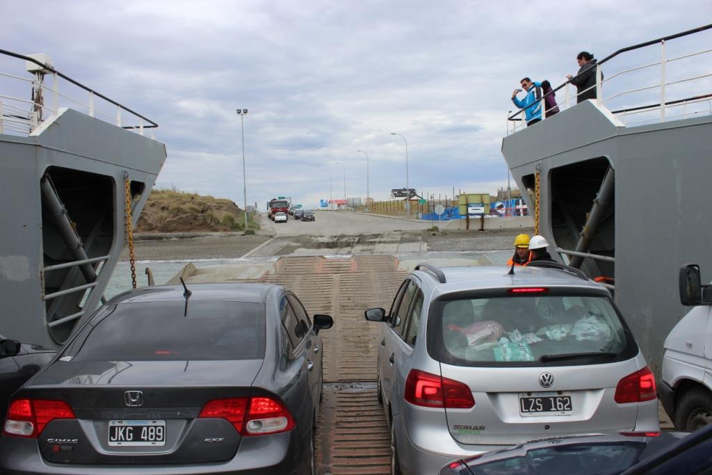 Preparing to Depart Ferry