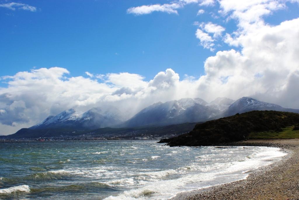 Ushuaia from Playa Larga