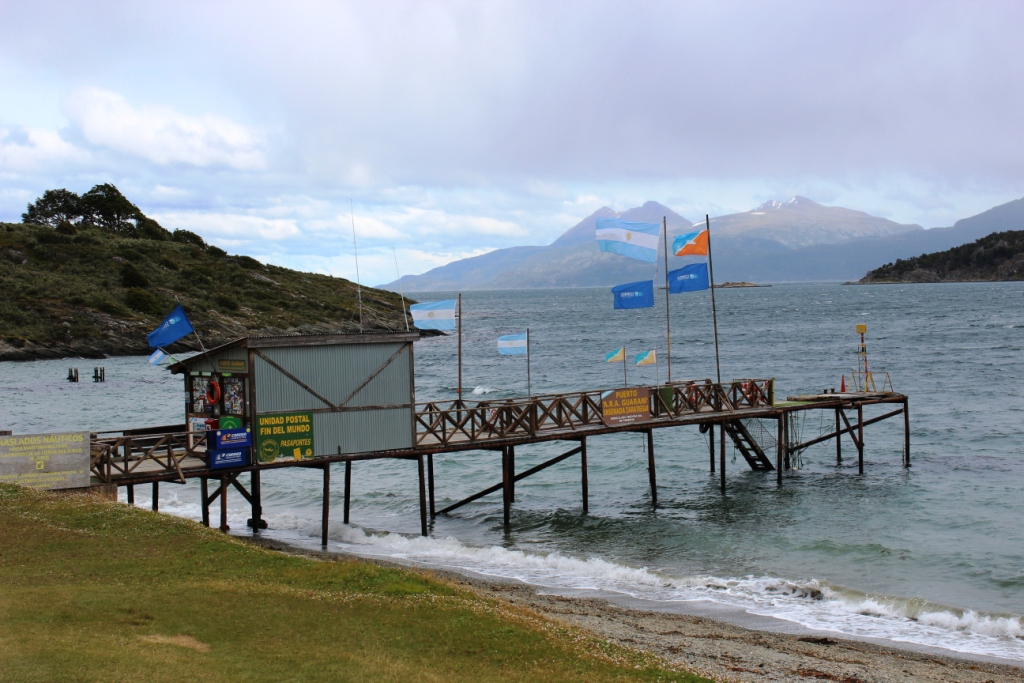 Post office at the end of the world in Tierra del Fuego National Park