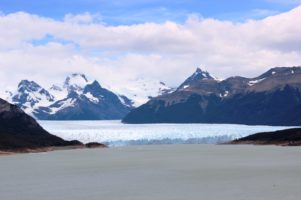 Perito Moreno from Miles Away