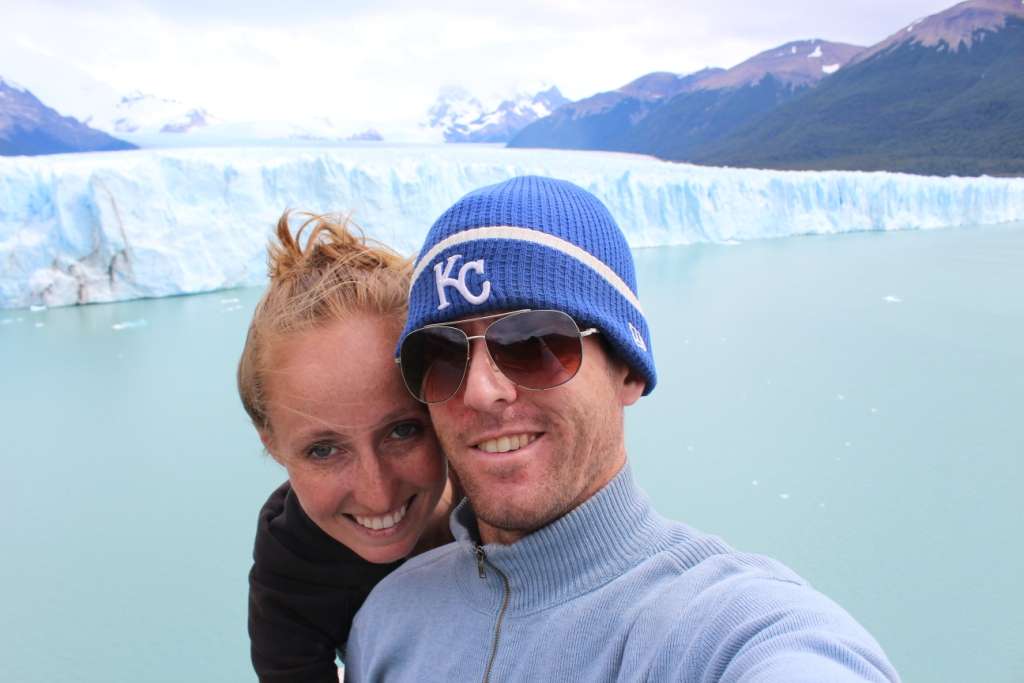 In Love at Perito Moreno