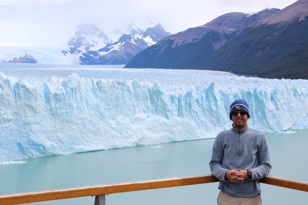 Ian and Perito Moreno