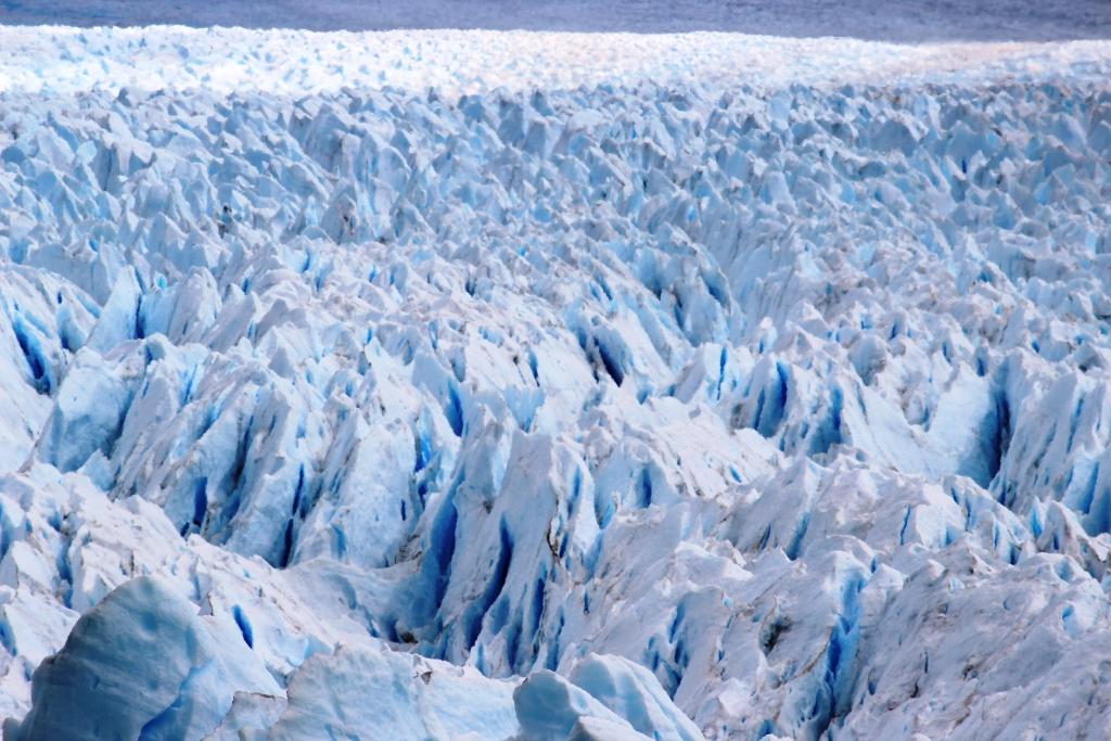 Zoomed Glacier