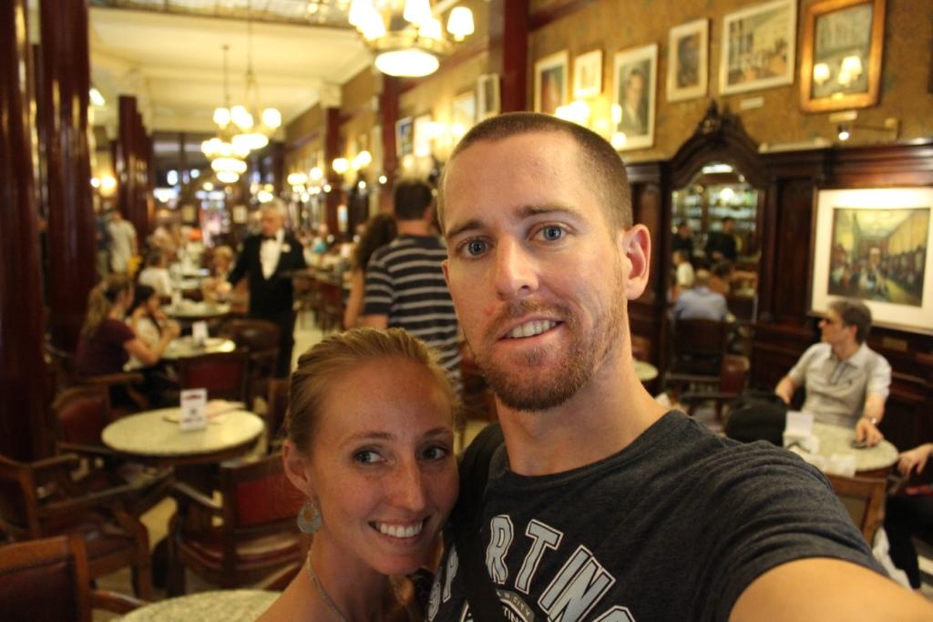 Cafe Tortoni in Buenos Aires, Argentina