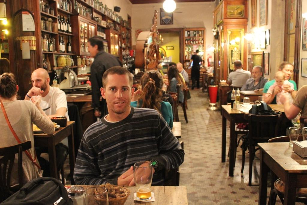 Bar El Federal in San Telmo, Buenos Aires, Argentina