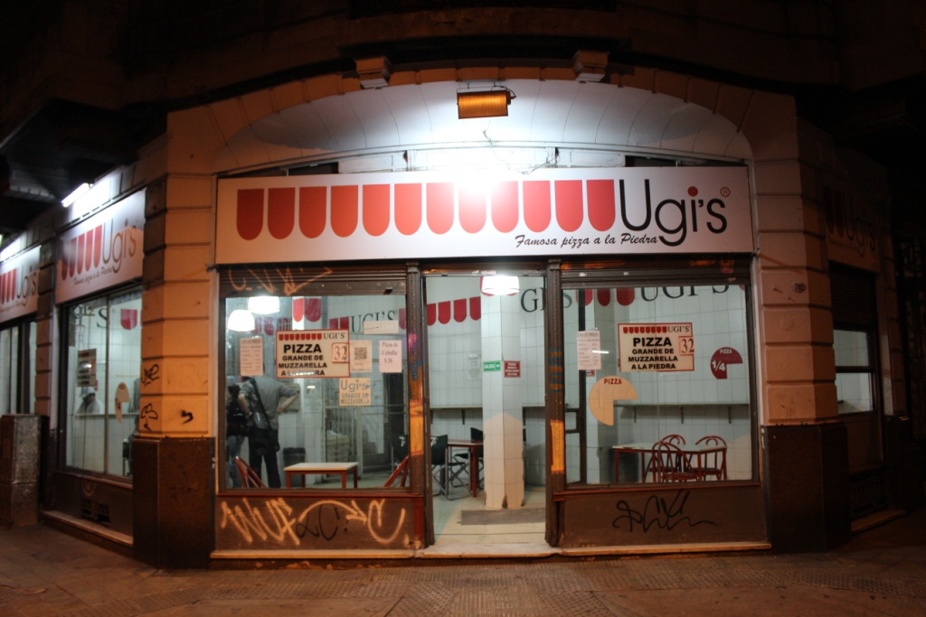 Ugi's Pizza in Buenos Aires