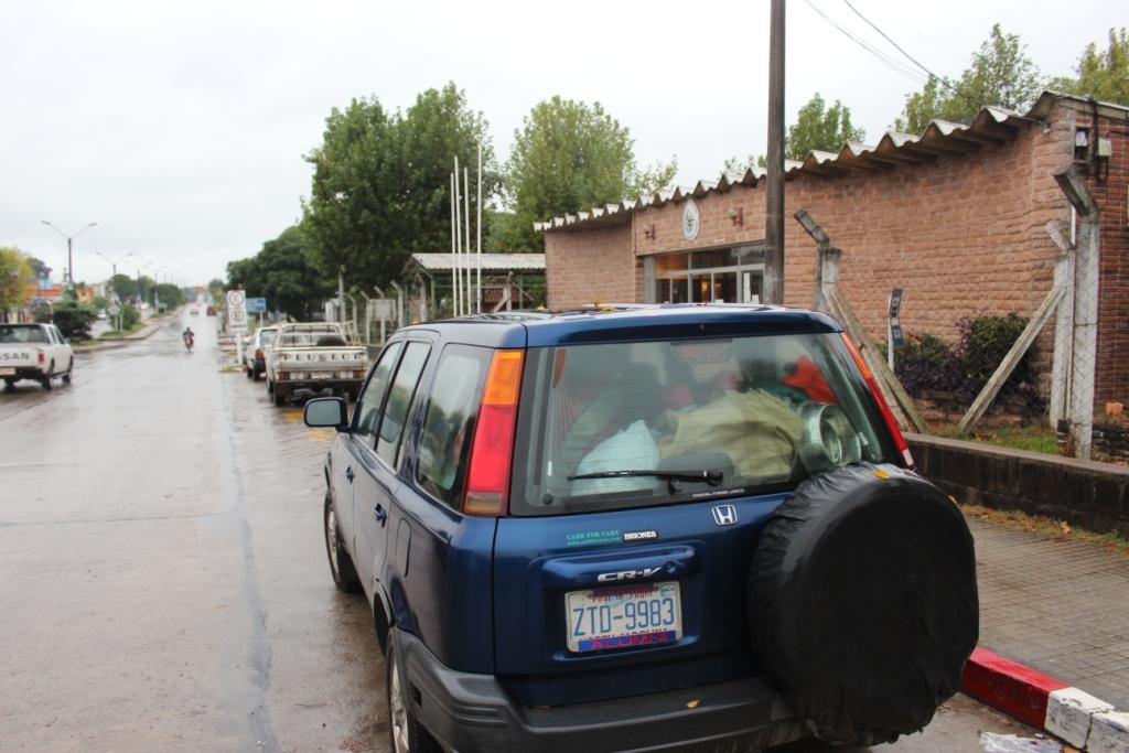 CR-Van at Uruguayan Migración