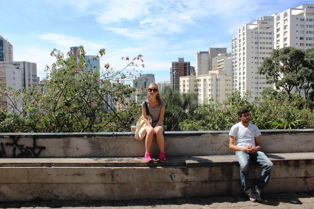 Hanging Out on Avenida Paulista