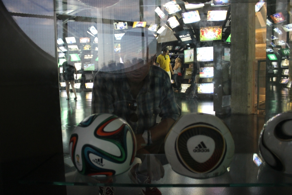 Media and World Cup Balls