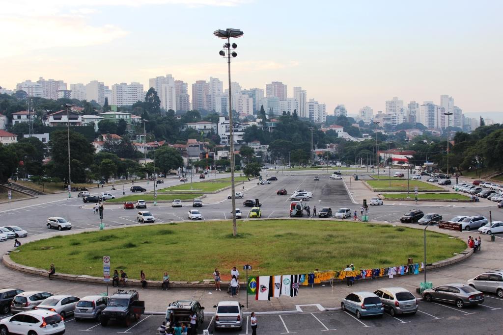 View from Pacaembu