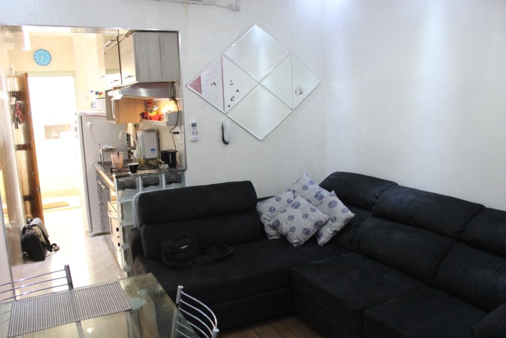 Living Room and Kitchen from Bedroom Door