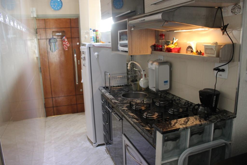 Kitchen and Apartment Door