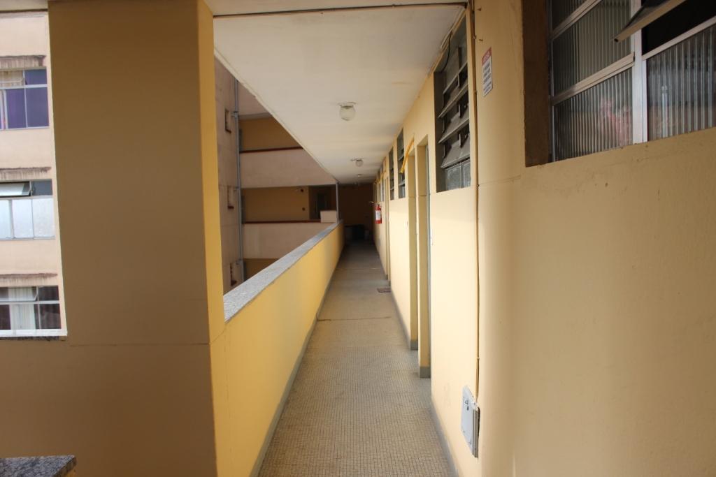 Corridor to Elevators from Our Door