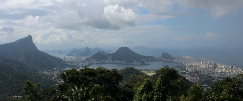 Rio Panorama from Chinese Belvedere