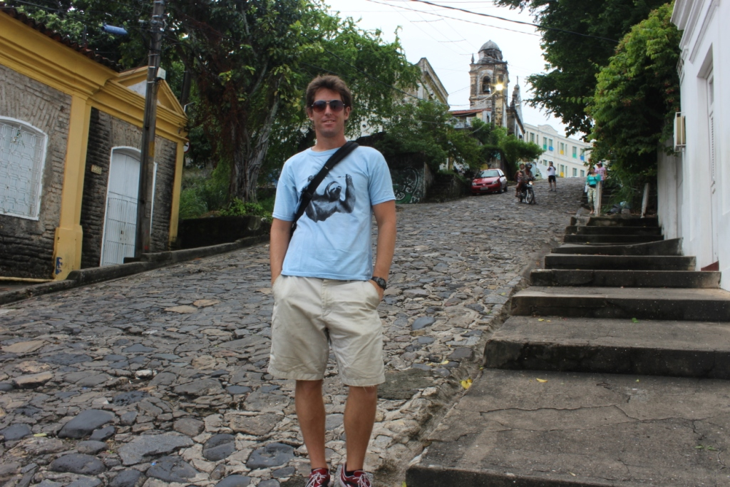 Ian in Olinda
