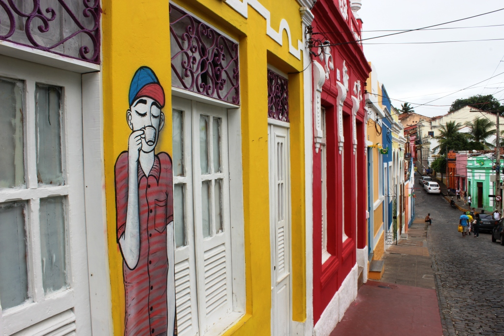 Colorful Olinda Street