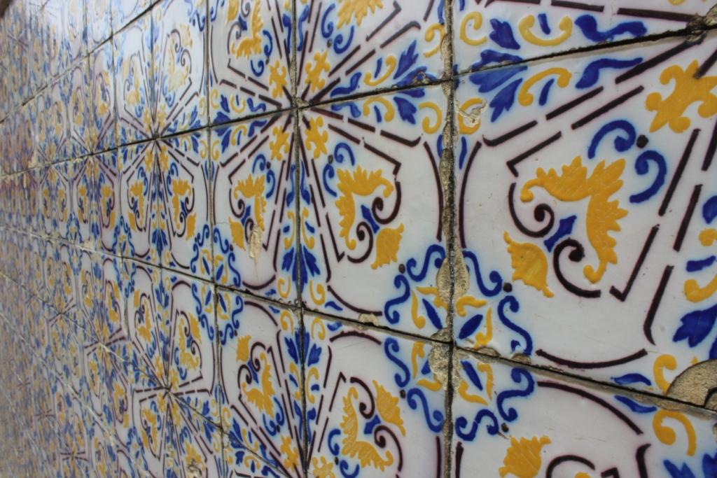 Tiles in Olinda