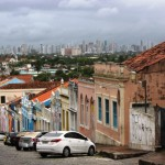 Olinda Street with Recife View