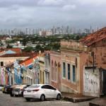 Olinda Street with Recife View