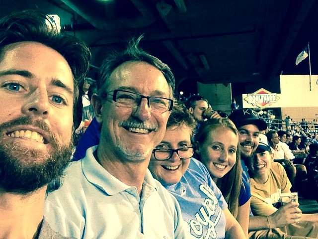 Dad's Birthday at the K